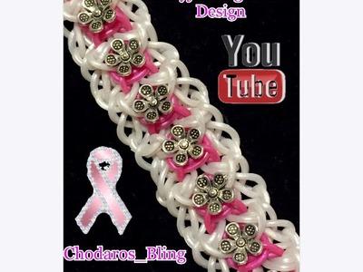 Ornamental Frame (hook Only) loom bracelet how to Tutorial