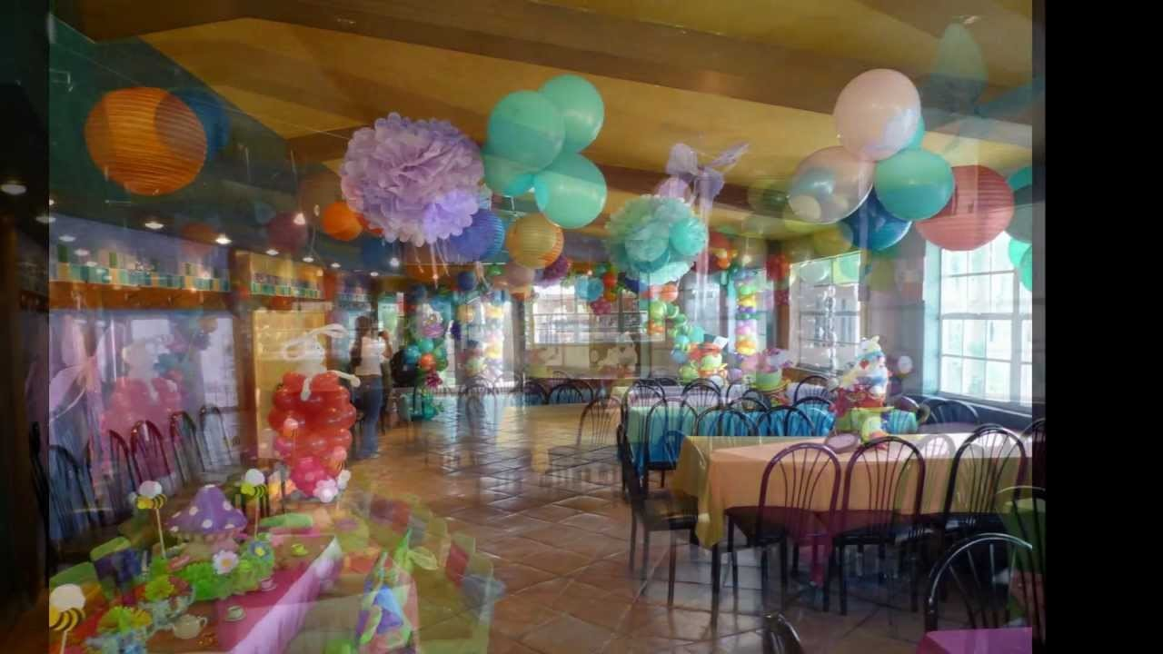 Outdoor and indoor Alice in Wonderland Balloon Decoration. DreamARK Events