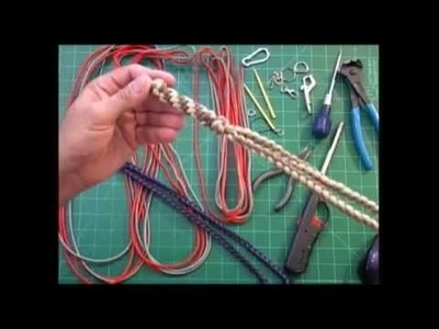 Paracord Weaver: How To - Multi-Knot Neck Lanyard - Part 1 - Overview