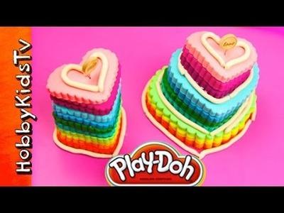 PLAY-DOH Heart Cakes Rainbow, Cookie Monster, Mrs. Potato Head