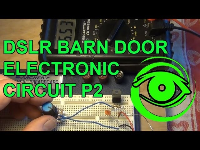 Tracking Stars With Your DSLR - Electronic Circuit - DIY Barn Door Trap P2