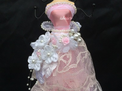 Tutorial - Altered Dress form - DT project for Kraft Supplies 4 U