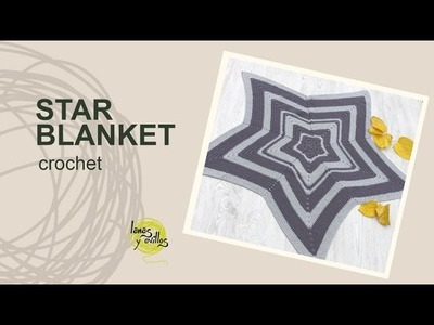 Tutorial Star Crochet Blanket