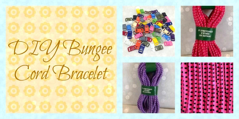DIY Bungie Cord Bracelet