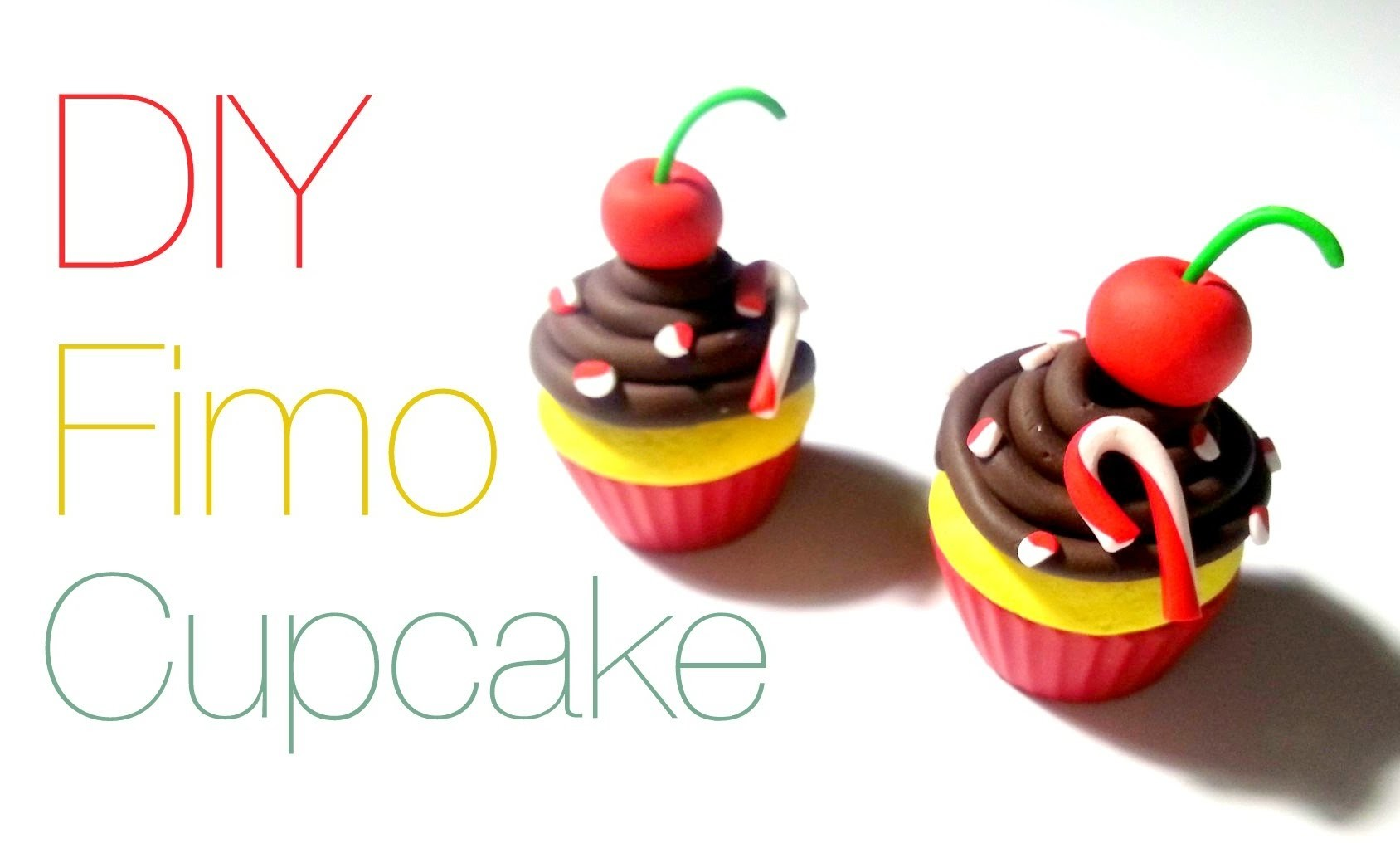 DIY Cupcake FIMO comment faire