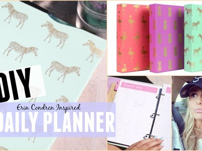 DIY: DAILY PLANNER ON A BUDGET