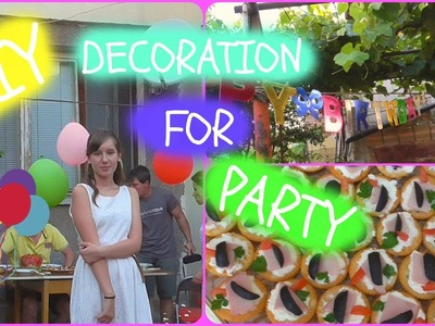 DIY Decoration for party