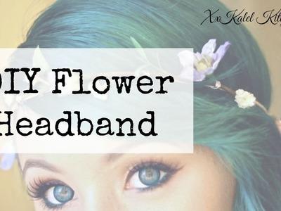 ♡ DIY Flower Halo ❀