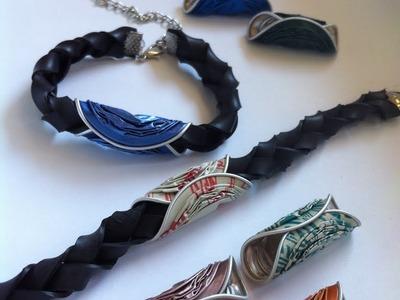 DIY inner tube: How to make and interchangeable bracelet