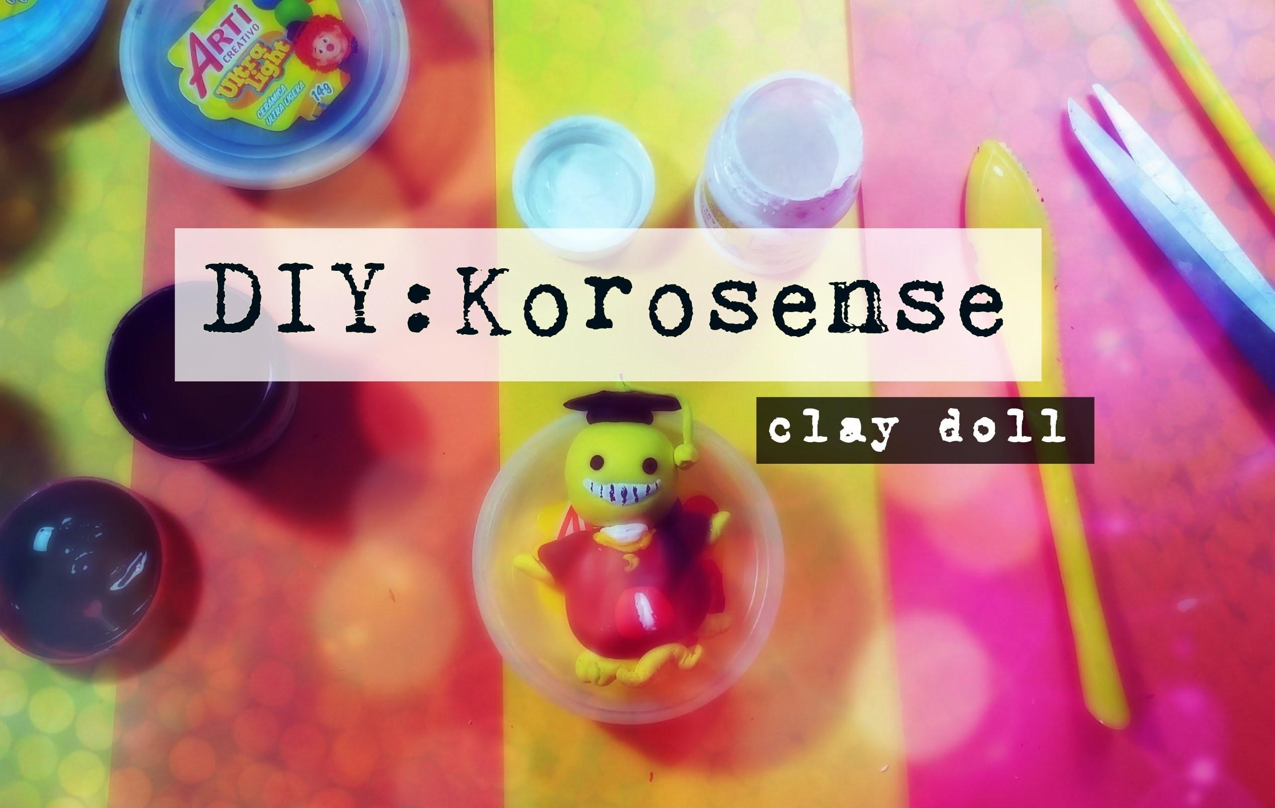 DIY: Korosensei Clay [Ansatsu Kyoushitsu]
