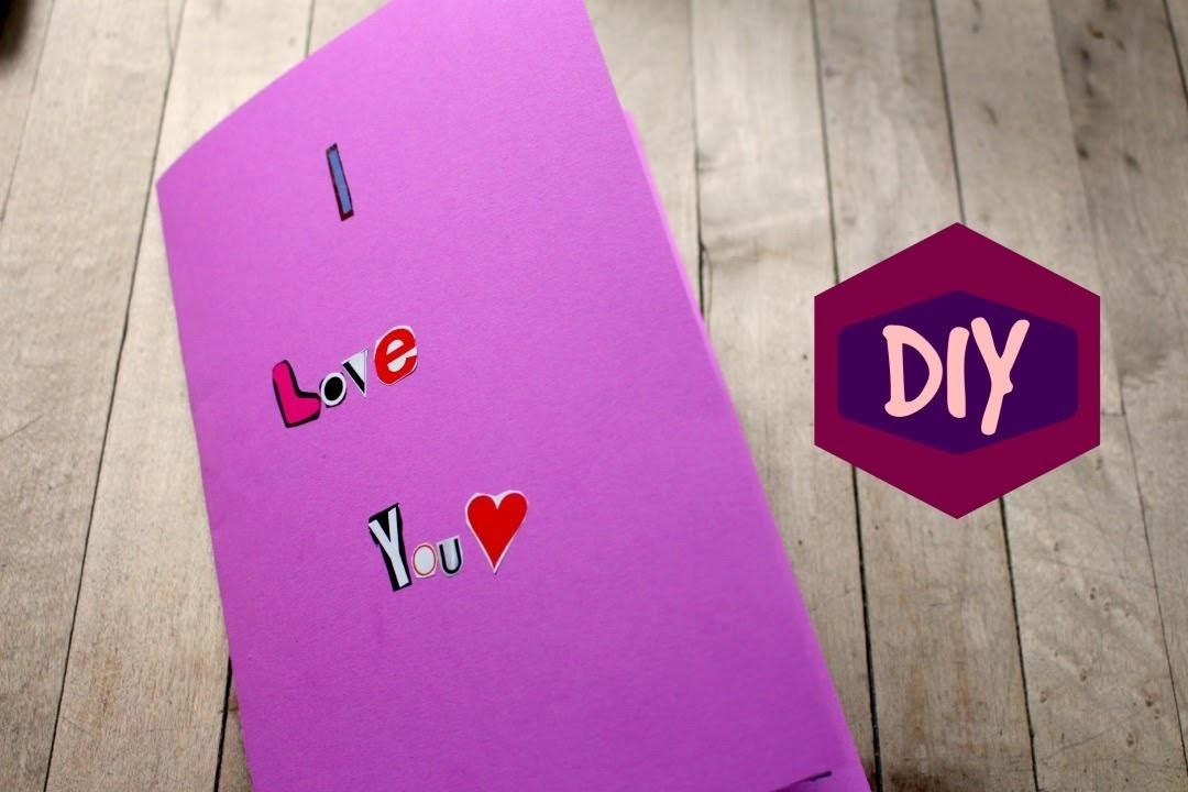 DIY: Magazine Clipping Card