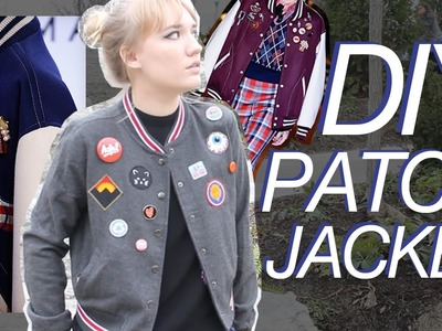 DIY PATCH JACKET | inspired by Marc Jacobs