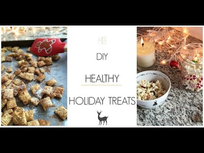 EASY DIY Healthy Holiday Treats in Under 5 Minutes!