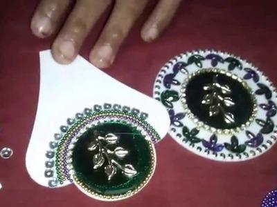 How to decorate rearrangeable rangoli. Diy
