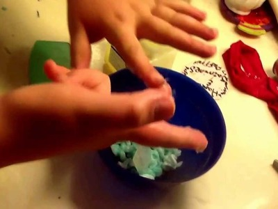 How to make Diy puff paint with no school glue