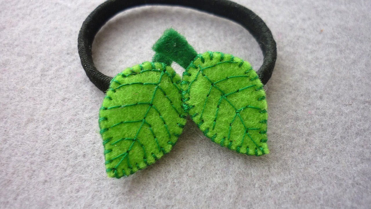 Make a Leaf Shaped Hair Ornament - DIY Style - Guidecentral