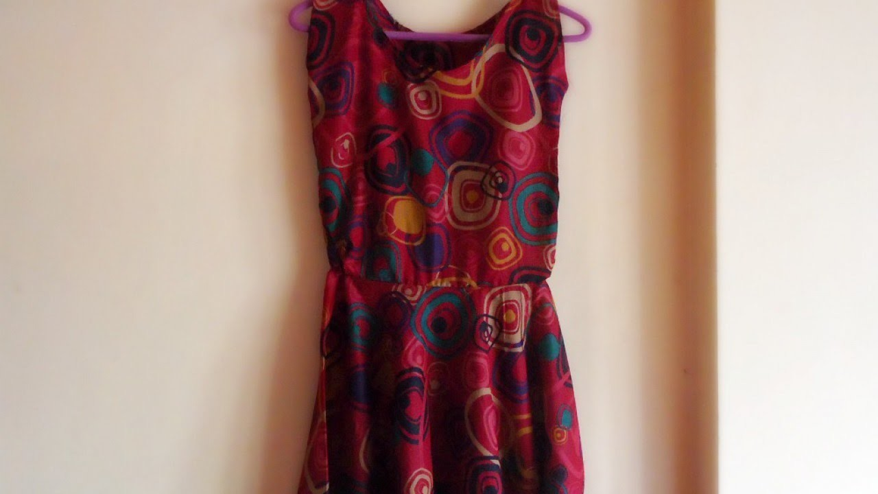 Make an Easy Simple Dress - DIY Style - Guidecentral