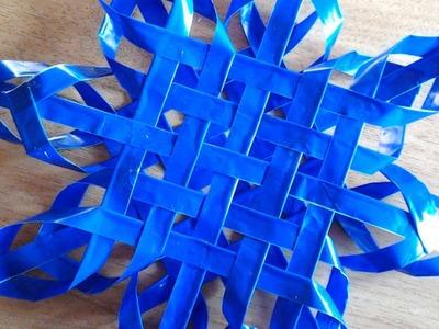 Make an Elegant Woven Christsmas Star - DIY Home - Guidecentral