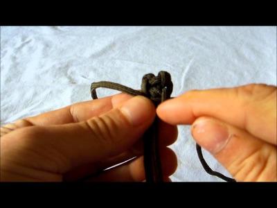 Paracord Zipper Pull - D.I.Y.