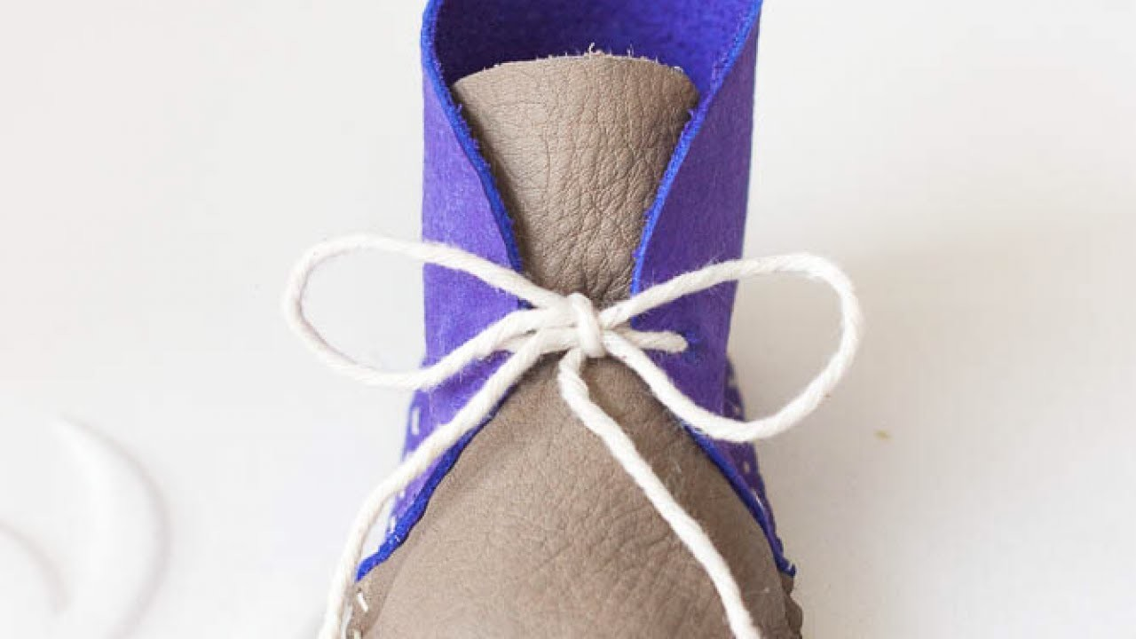 Sew Adorable Baby Boots - DIY Style - Guidecentral