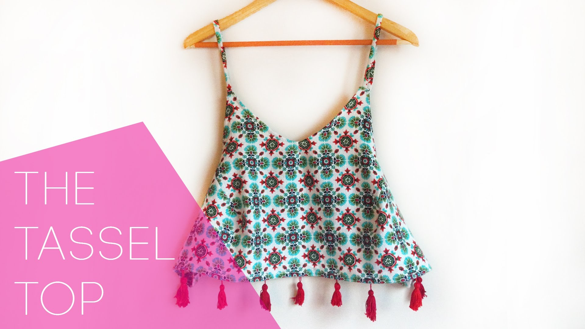 WHATDAYMADE DIY: The Tassel Top