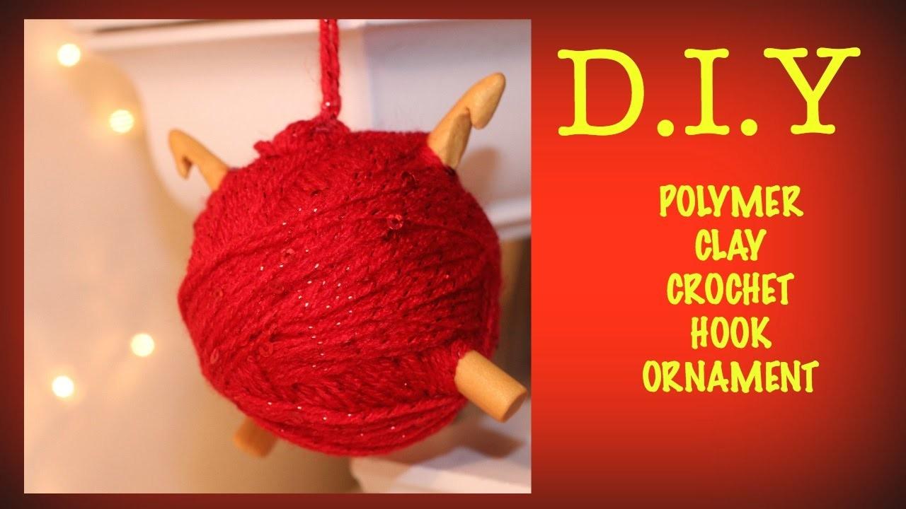 ~*A CHRISTMAS ORNAMENT FOR CROCHET LOVER'S*~ |DIY|