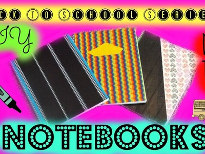 Back To School: DIY Duct Tape Notebooks