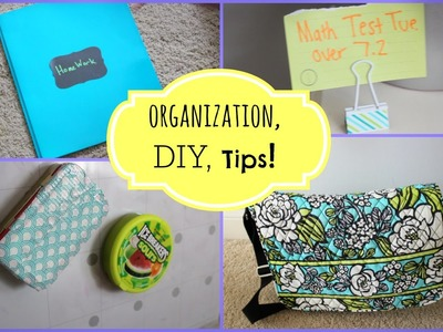 Back To School SURVIVAL GUIDE: DIY, Study Tips, + MORE