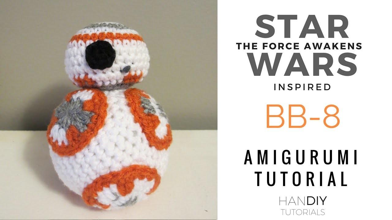 BB-8 Stuffed Toy Amigurumi Crochet Tutorial: Part 1