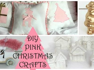 CHRISTMAS DIY CRAFTS 2015 ♡ Pink Christmas Decorations!