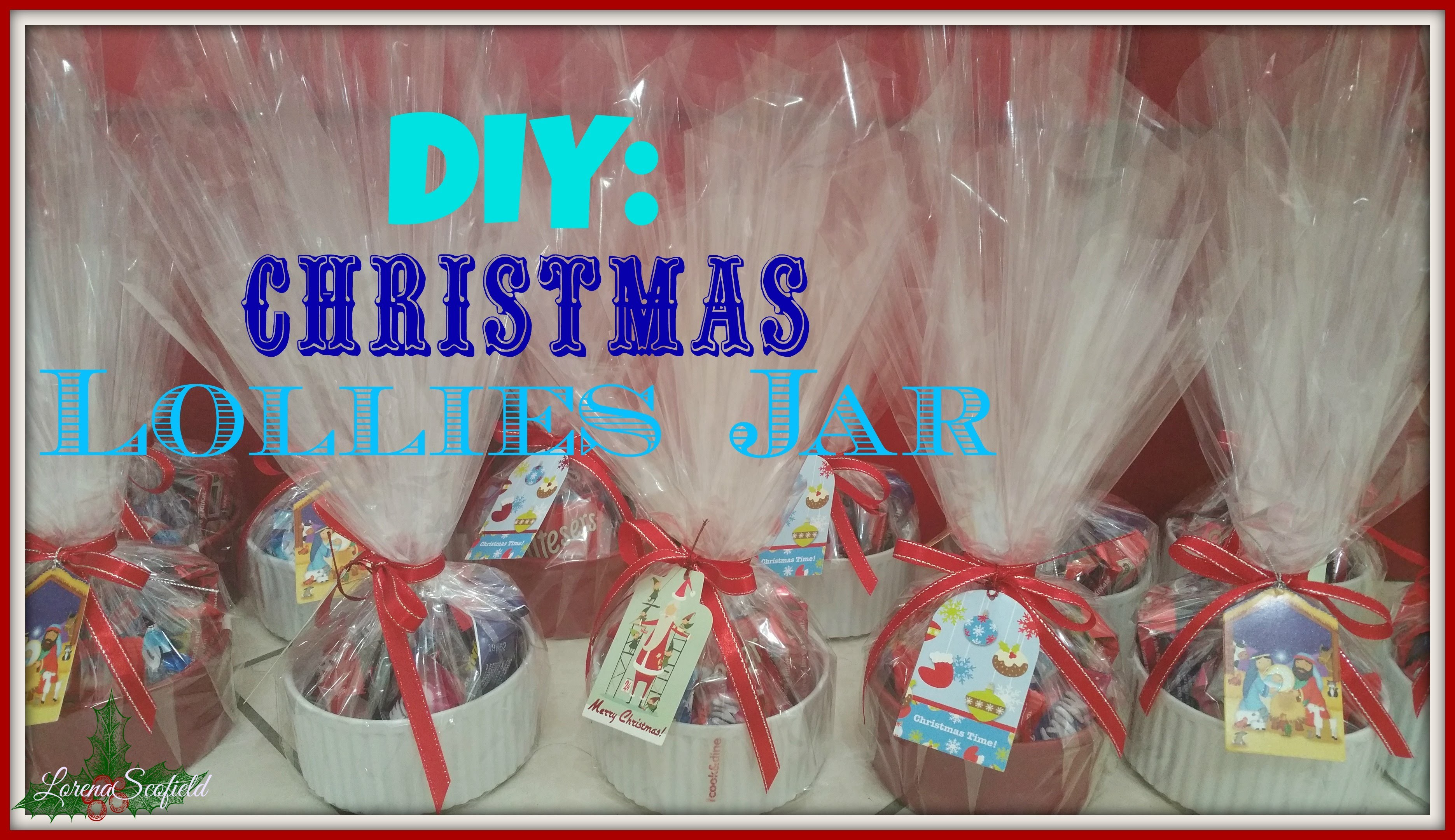 ChristmasEdition2015: DIY: Christmas Lollies Jar