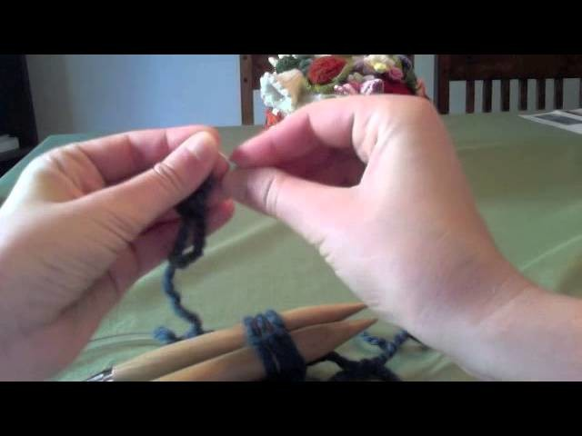 Continuous I-cord bind-off