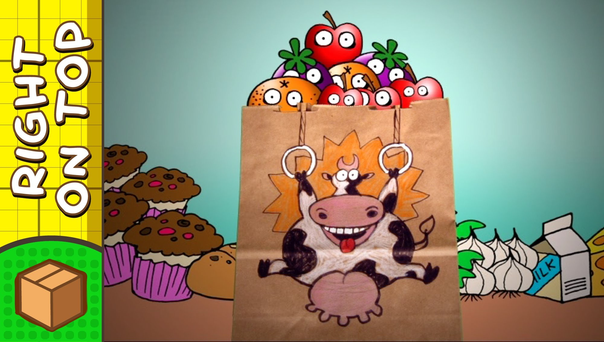 Crafts Ideas for Kids - Cow Paper Bag | DIY on BoxYourSelf