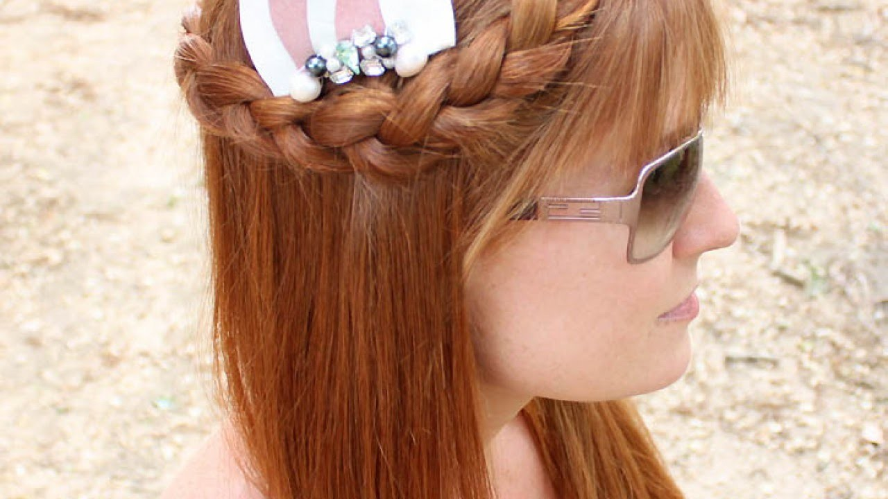 Create a Beautiful Embellished Hair Comb - DIY Style - Guidecentral