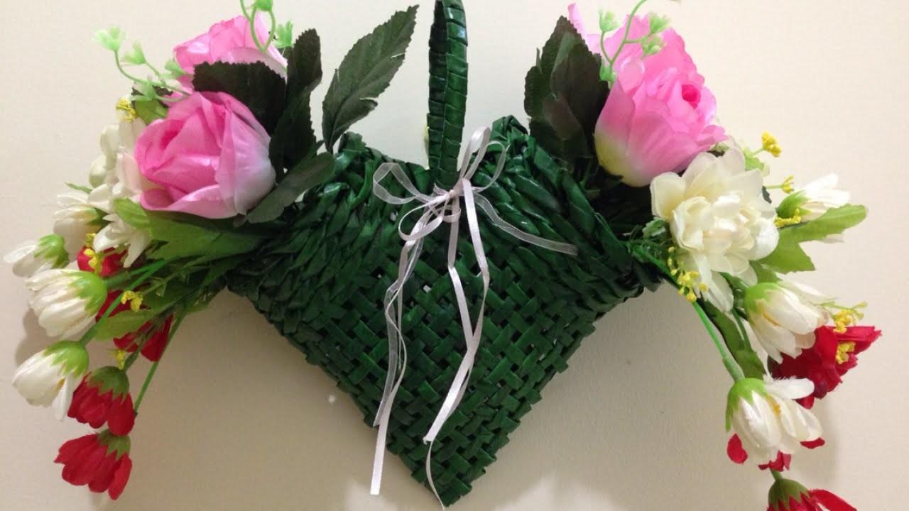 Create a Decorative Hanging Flower Basket - DIY Home - Guidecentral