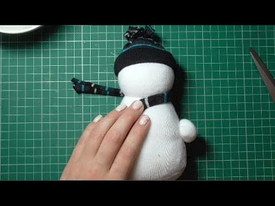 Day 1 - No Sew Sock Snowman