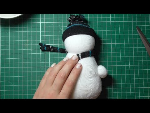 Day 1 - No Sew Sock Snowman