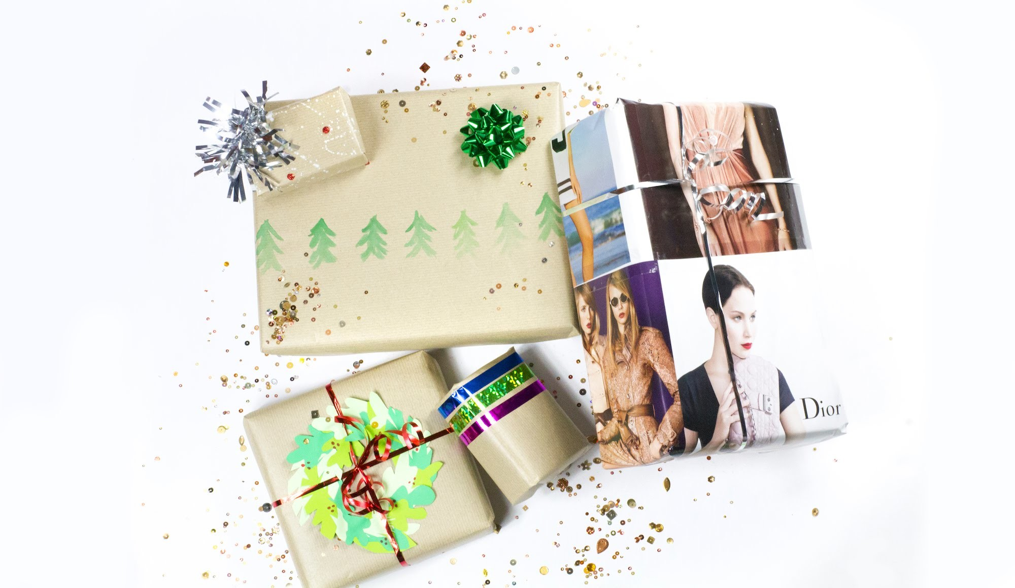 DIY: 5 Gift Wrapping Ideas