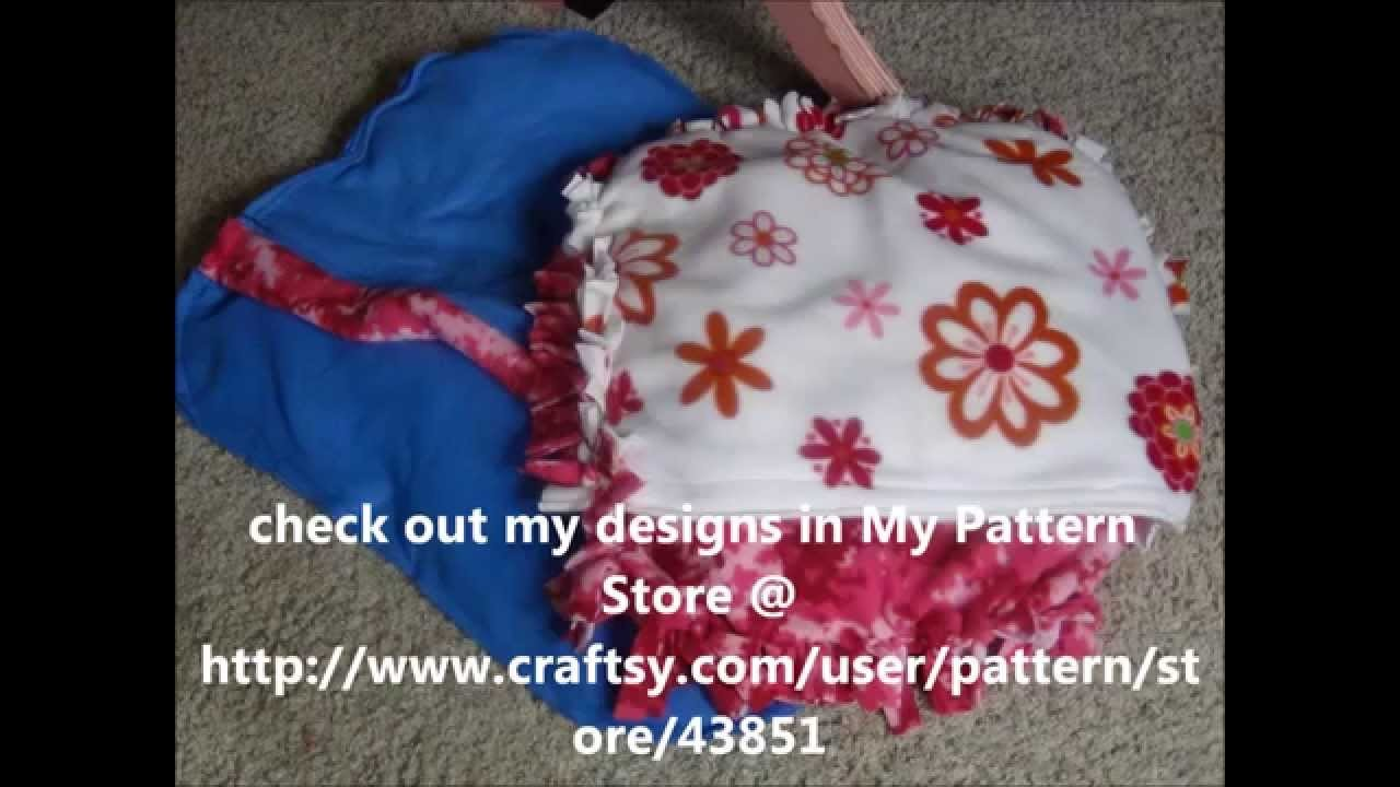 DIY A SO SO SEW DOG BED VERSUS A NO SEW DOG BED