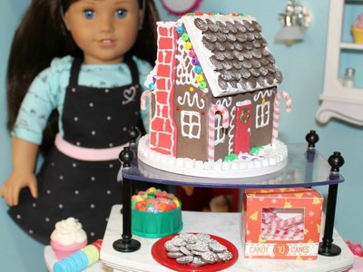 DIY American Girl Gingerbread House