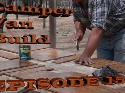 DIY Camper Van Build ~ New Oak Table ~ Part 15
