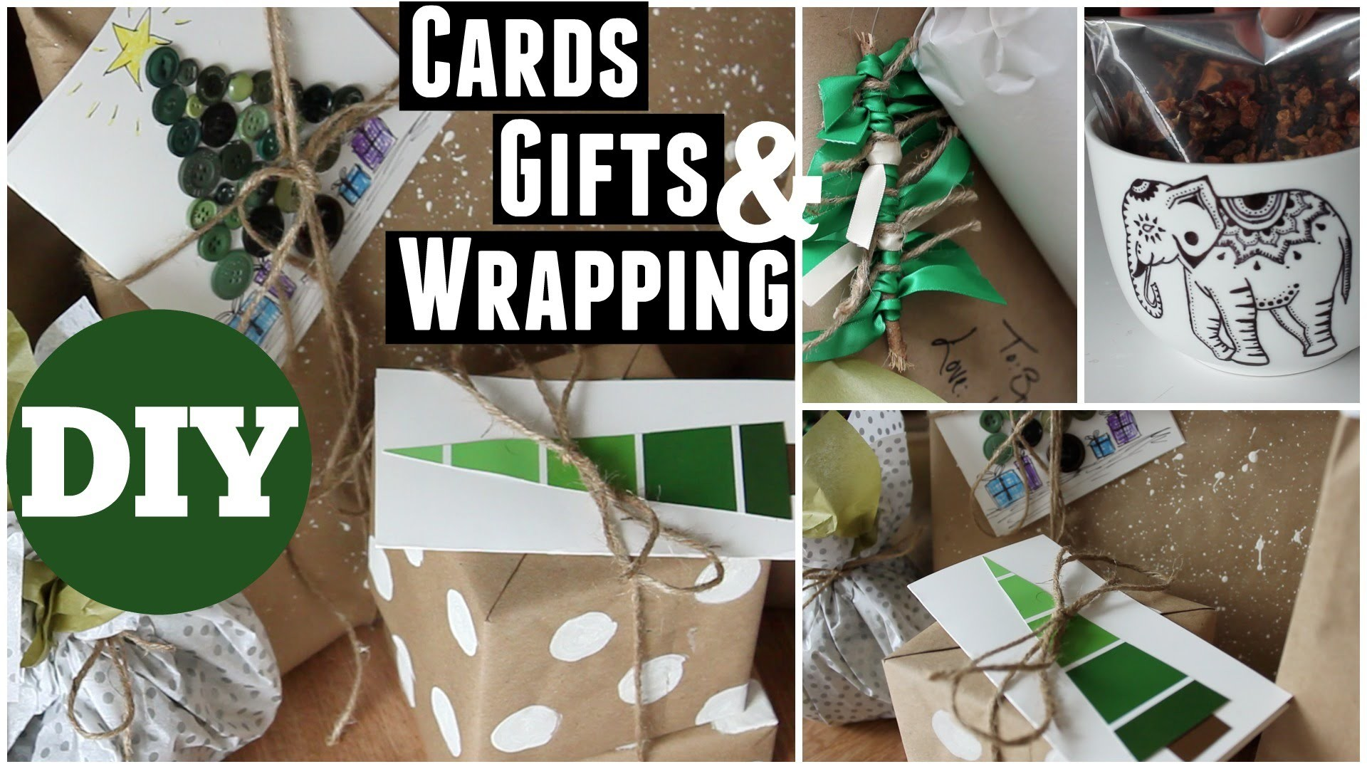 DIY Cards, Gifts, Ornaments & Wrapping