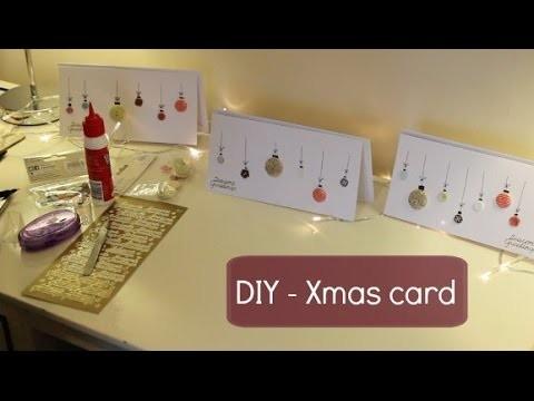 DIY - Christmas Card | Emma Grace