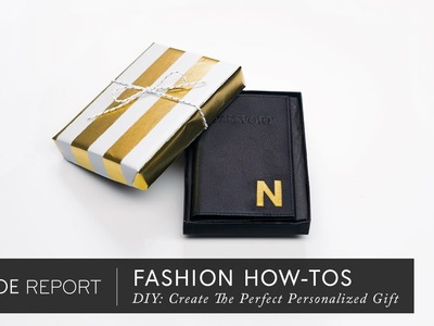DIY: Create The Perfect Personalized Gift | The Zoe Report By Rachel Zoe