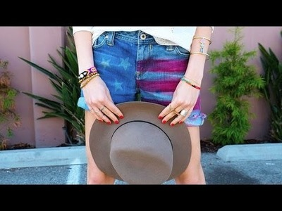 DIY Fashion | American Flag Shorts | Fashion How To