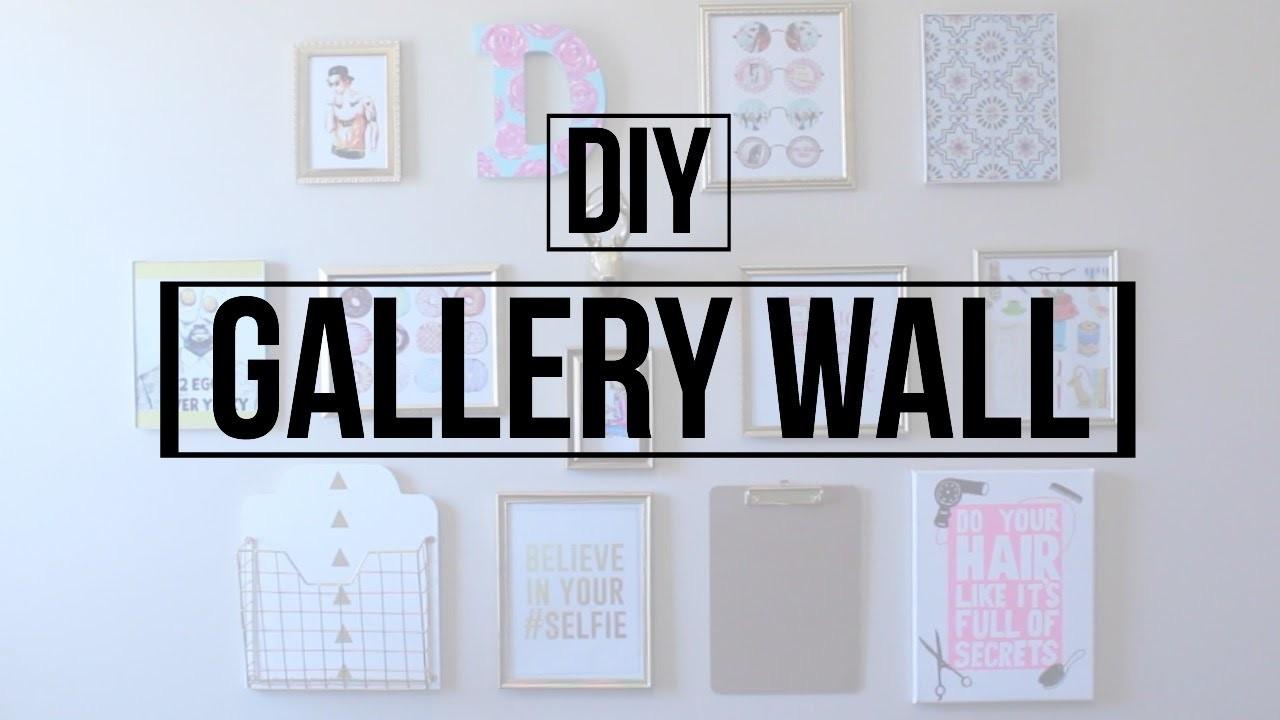 DIY Gallery Wall | DaynnnsDIY