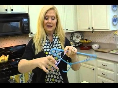 DIY Get Clothes to Stay on Hangers - Joni Hilton