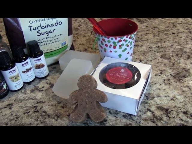 DIY Gingerbread Body Scrubs | NOW Solutions