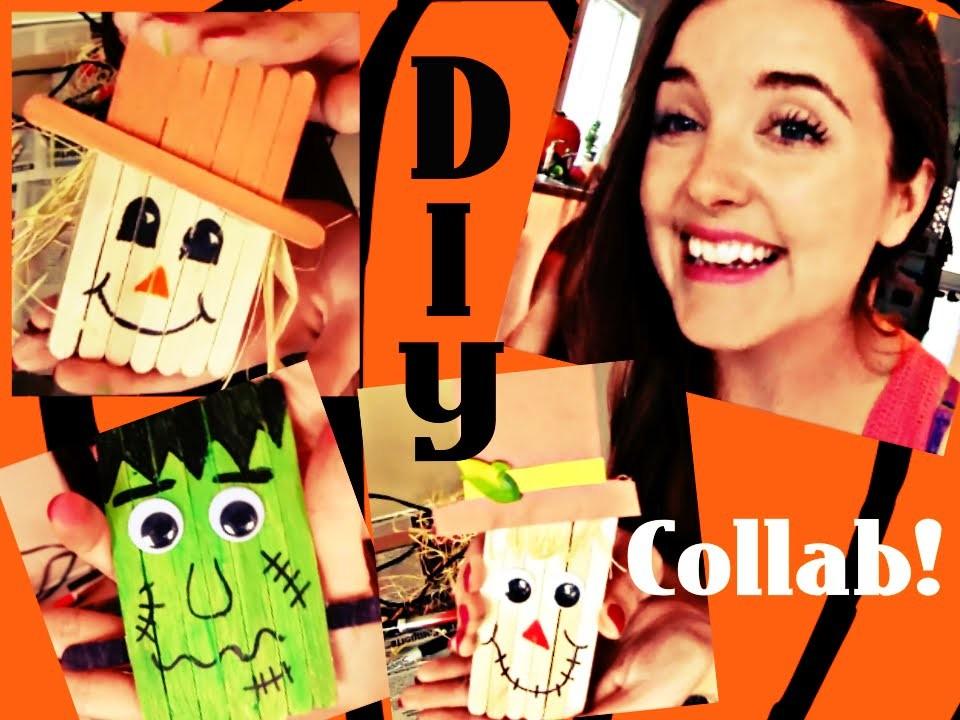 DIY Halloween Fridge Magnets. Halloween Collab