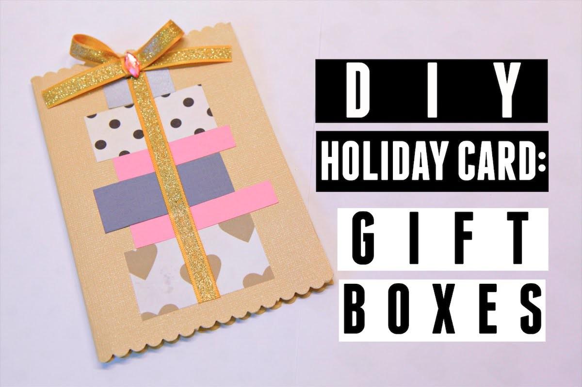 DIY Holiday Card: Gift Boxes (MACM 4.4)